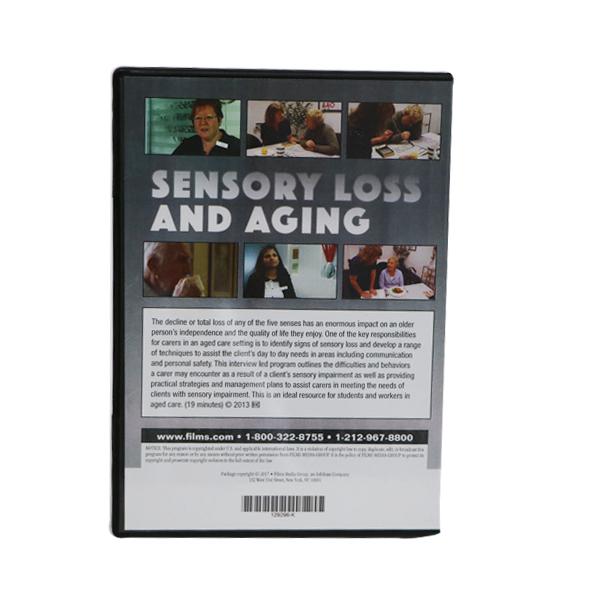 Sensory Loss and Aging Back ofDVD