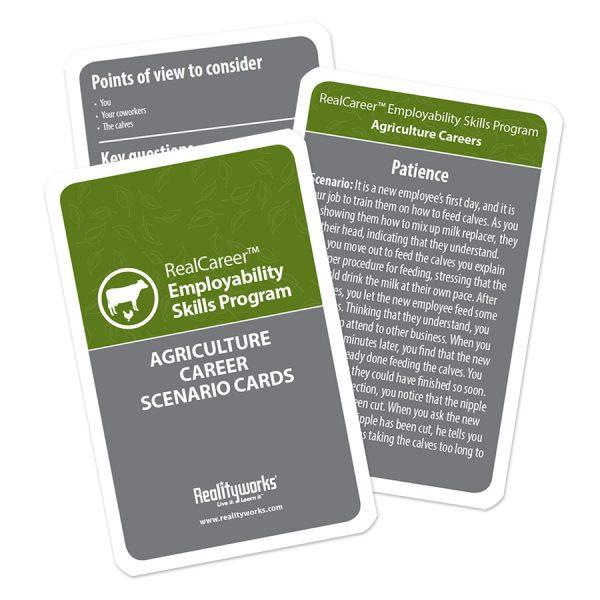 Agriculture Scenario Cards