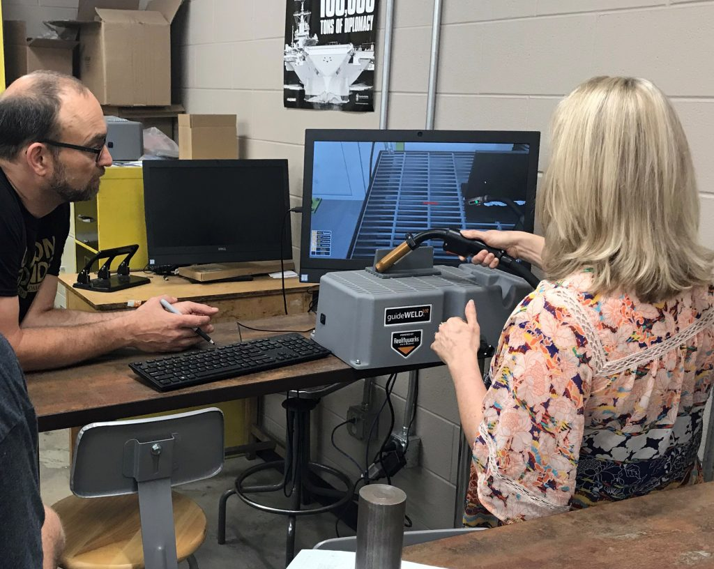 Students at Guilford Technical Community College's Center for Advanced Manufacturing Can Now Work Virtually Before Hitting the Shop