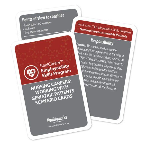 Geriatric Scenario Cards - 10 pack