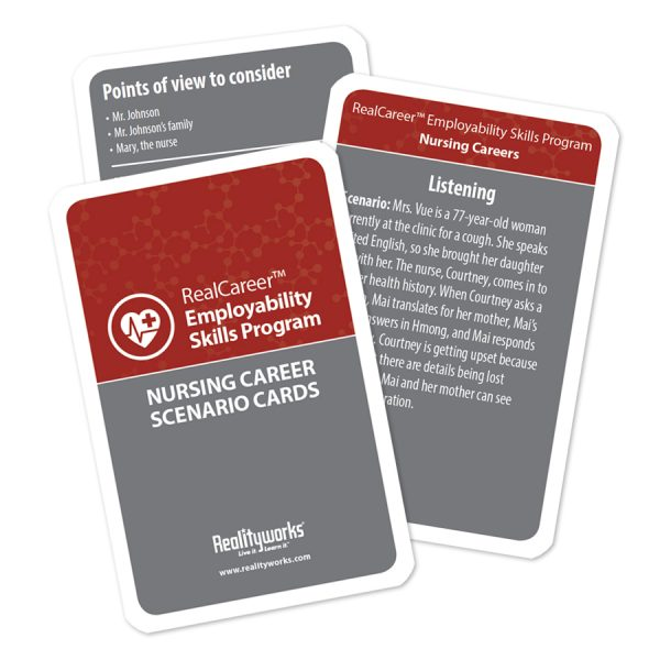 Nursing Scenario Cards - 10 pack