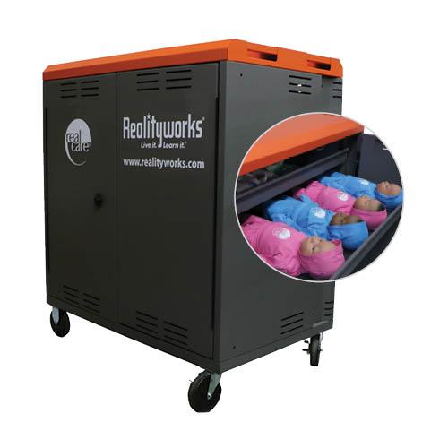 20-Baby Storage Charging Cart