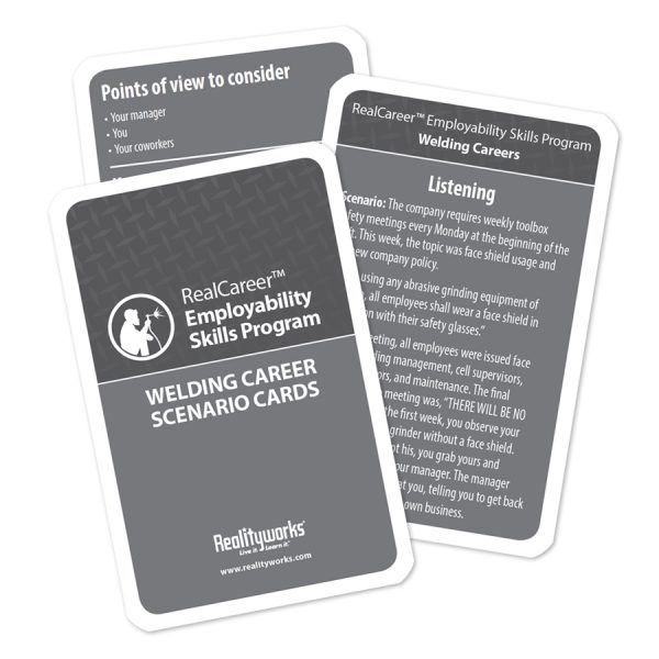 Welding Scenario Cards -10 pack