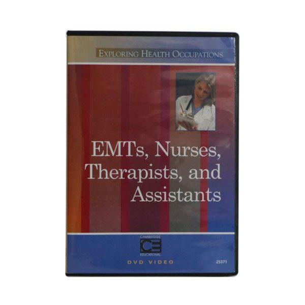 EMT Nurses Therapists and Assisstants DVD
