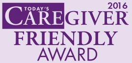 Today's Caregiver Magazine Caregiver Friendly Award