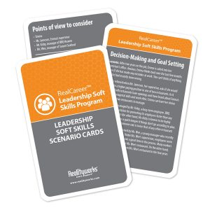 Leadership Soft Skills Scenario Cards