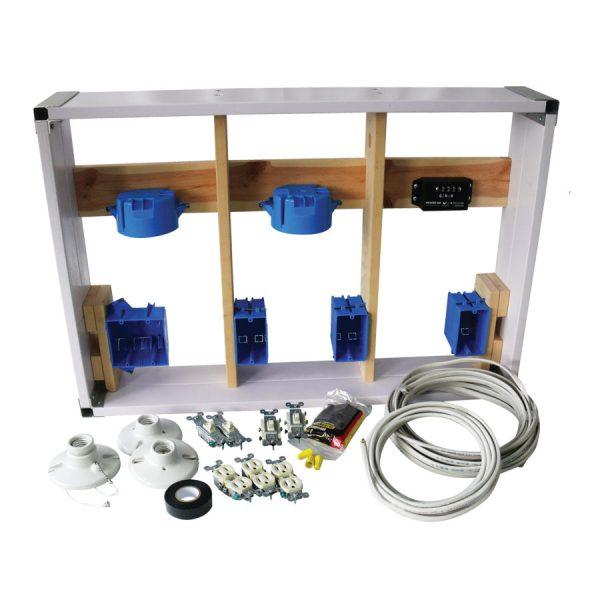 Electrical Wiring Kit Wall Panel