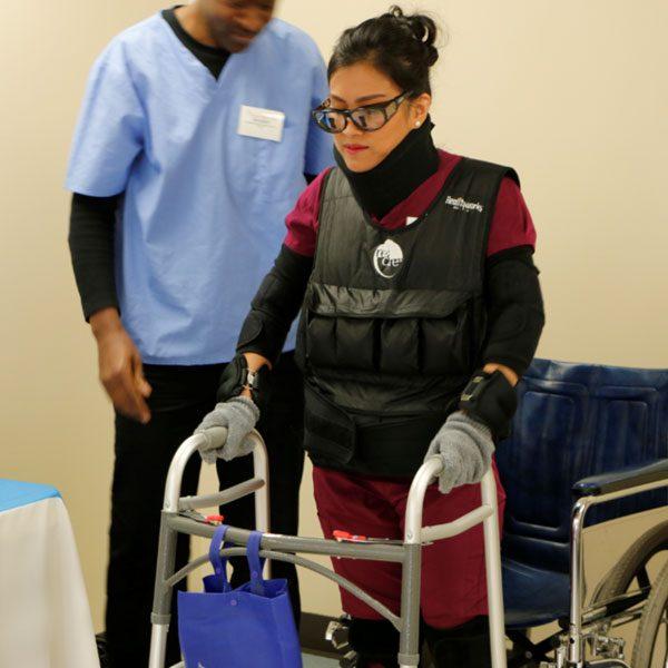 Geriatric Simulator Nursing Training