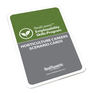 Horticulture Career Scenario Cards