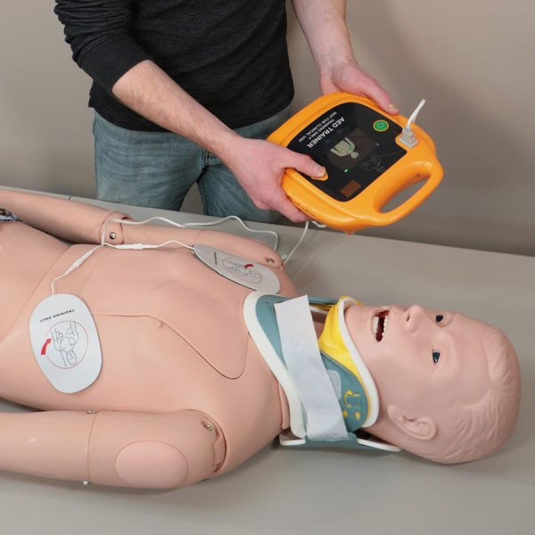 AED Trainer in use
