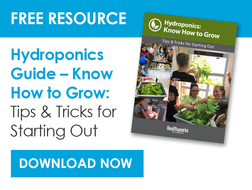 FREE Resource Hydroponics Guide - Popup